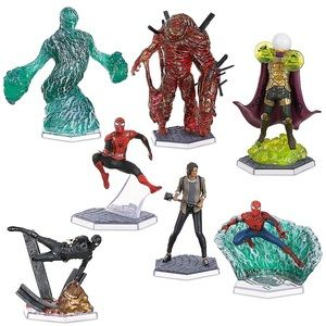 SPIDER MAN Far From Home Figure Toy Play Set